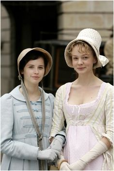 Carey Mulligan as Isabella Thorpe in: Northanger Abbey