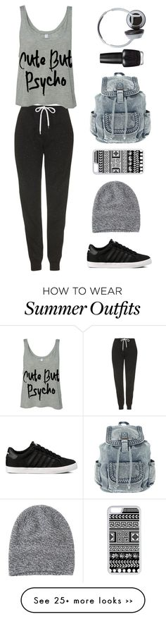 """Cute but psycho"" by sasha06527 on Polyvore featuring Topshop, Toast, CellPowerCases, OPI and Nixon"