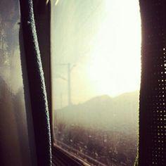 #trainwindow #goingsouth #portugal