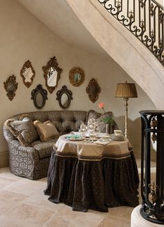 .Great use of that space under the stairway!