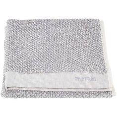 Meraki pyyhe 2 kpl setti 40x60, valkoinen/harmaa