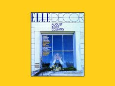 My dear friend and adopted sister Barbara Dixon founded ELLE DECOR 25 years ago.  The magazine remains the best home magazine and still bears her imprint and style today: From 'Stripes With Plaids' to 'Unmade Beds': Major Players Talk 25 Years of Elle Decor