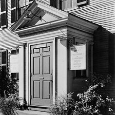 """Prior to 1938 we were called the Cambridge Social Union. In this photo from the Library of Congress archives taken in 1937 you can catch a glimpse of what life at the Social Union was like. In addition to classes the signs next to the door read """"Brattle Hall Office"""" """"Red Cross"""" and """"Cambridge League of Women Voters."""" #cambma #picturecambridge #harvardsquare #newengland #libraryofcongress #boston #history #greatdepression #womensrights #redcross by cambridgecenter January 28 2016 at 06:46AM"""