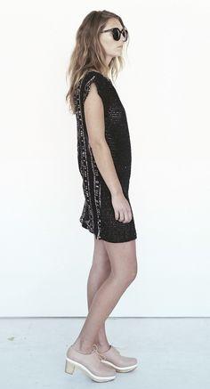 founders & followers | Rift crochet Dress by Osei Duro, Osei Duro sold by Founders & Followers