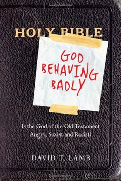 Book Review: God Behaving Badly.  Had me laughing and helped me in a conversation