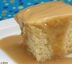 Dans la cuisine de Blanc-manger: Gâteau blanc sauce style St-Hubert