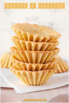 Pie crust recipes / Przepis na babeczki - ilovebake. Mini Desserts, Dessert Recipes, Pie Crust Recipes, Polish Recipes, Cold Porcelain, Cake Cookies, Biscotti, Brown Sugar, Waffles