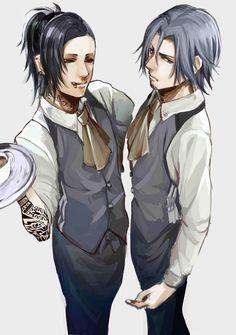 Uta and Yomo ||| Tokyo Ghoul Fan Art by てむ on Pixiv
