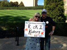After donating a kidney to her husband, Jen Reeder founded Rock 1 Kidney to assuage common fears about organ donation. (Like: yes, you can still drink.)