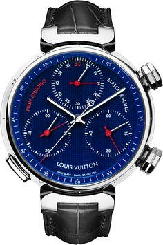Louis Vuitton Tambour Twin Chrono Watch