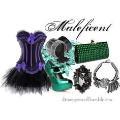Maleficent, created by disney-villains... great for halloween