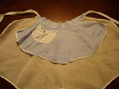 Your place to buy and sell all things handmade Blue Gingham, Gingham Check, Old Advertisements, Half Apron, New Shop, Have A Great Day, Aprons, Vintage Kitchen, Blue And White