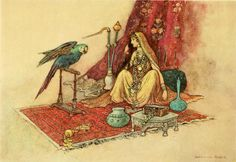 cairparavel:     Warwick Goble illustration for Folk-Tales of Bengal by Lal Behari Dey 1912.