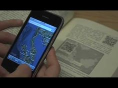 a video about Ubimark Books, which are books that have QR codes that expand the written book.