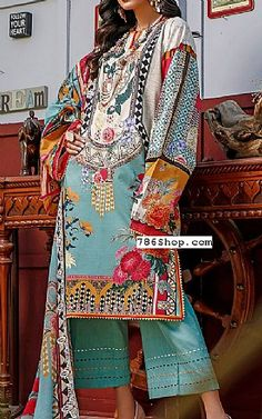 Pakistani Dresses Online Shopping, Online Dress Shopping, Fashion Pants, Fashion Dresses, Pakistani Lawn Suits, Add Sleeves, Lawn Fabric, Clothes For Sale, Indian Outfits