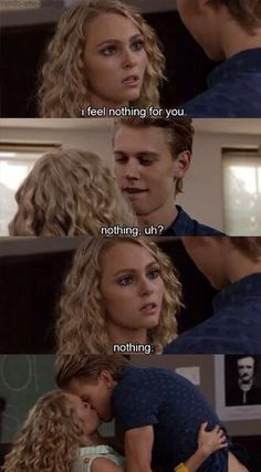 The Carrie Diaries - Anna Sophia Robb, Austin Butler Feeling Nothing, Feeling Sad, Crush Quotes, Mood Quotes, Cute Relationships, Relationship Goals, Couple Goals Cuddling, Movie Lines, Film Serie