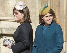 Princess Beatrice, Princess Eugenie Look Lovely For Easter At Windsor ...