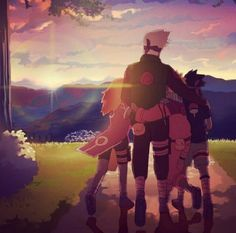 Kakashi....Kakashi is the best. I've always really liked kakashi