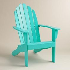 One of my favorite discoveries at WorldMarket.com: Lagoon Adirondack Chair