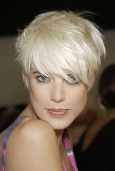 Agyness Deyn Shaggy Pixie Cuts