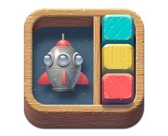 Showcase of 40 insanely detailed iOS Icon Designs.  Toybox icon by Julian Frost