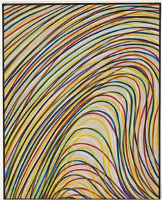 art-Walk — Sol LeWitt Wavy lines on gray - Modern John Baldessari, Robert Morris, Giuseppe Penone, Frank Stella, Art Articles, Arts Integration, Grey Art, Art Walk, Modern Artwork