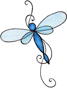 tribal dragonfly | dragonfly tattoo 2 by *mojo*. without the flowers - i prefer it more ...