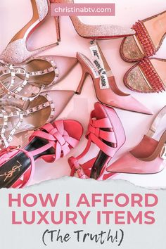 How I Afford Luxury Items (The Truth!) Giving you the truth behind how I afford luxury items such as designer handbags and shoes. These tips are how I afford my lifestyle and hopefully you can put some of them into practice to help you afford the luxury items of your dreams. If I can afford luxury items, you can too! #luxury #designerbags Best Fashion Blogs, Fashion Hacks, Fashion Advice, Luxury Handbags, Designer Handbags, Designer Shoes, Miami Fashion, Luxury Fashion, Fall Booties