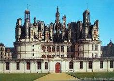 chambord schloss | Chambord Castle – Chateaux de la Loire - Postcard Exchange - Online ...