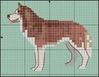 Find Out More On Agile Siberian Husky Pups Grooming Siberian Husky Training, Siberian Husky Dog, Cross Stitch Charts, Cross Stitch Patterns, Red Husky, Pixel Crochet Blanket, Dog Crafts, Bead Loom Patterns, Dog Pattern