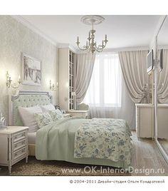 3D дизайн интерьера классической спальни - http://www.ok-interiordesign.ru/ph18_bedroom_interior_design.php