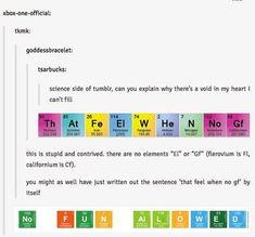science side of tumblr  heart