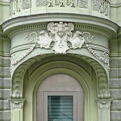 Ljubljana Secession Ornament | Slovenia #Art #Nouveau