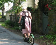 Amish scooter; Lancaster, PA (Scooter Girl)