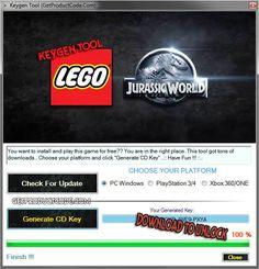 LEGO Jurassic World CD Key Generator EGO Jurassic World Key Generator Free CD Key Download LEGO Jurassic World Key Generator Free CD Key