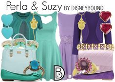 The cute little  mice from Cinderella inspire this look | Disney Fashion | Disney Fashion Outfits | Disney Outfits | Disney Outfits Ideas | Disneybound Outfits | Cinderella Outfit | Suzy and Perla Outfit |