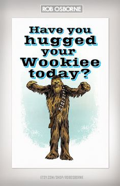 Have you? #starwars this is my very favoritest poster!