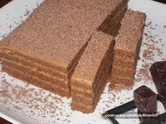 Cokoladna torta Ovu cokoladnu tortu jednostavnost, pored ukusa, cini izuzetnom! Kremu i kore za tortu mutite zajedno a potom izdvajate dio kreme a ostatak istresete u pleh i pecete kore. Brzo i jednostavno!!!