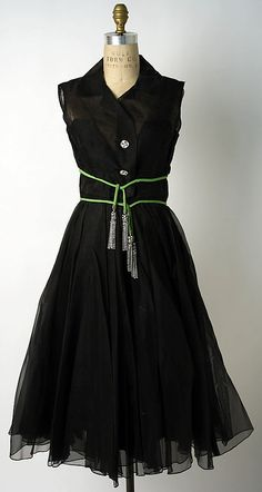 Cocktail dress, 1954