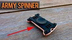 ARMY Fidget Spinner  MecArmy Hand Spinner
