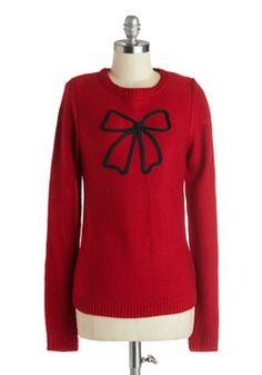 Tied Up in Beauty Sweater, #ModCloth