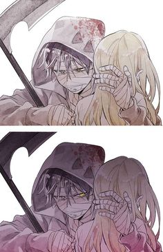 君が笑うまで Angel of Slaughter Fanart Ray and Zack Anime Angel, Me Anime, Angel Of Death, Manga Romance, Comics Anime, Mad Father, Familia Anime, Rpg Horror Games, Satsuriku No Tenshi