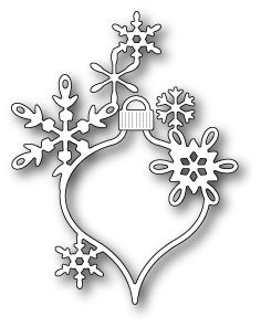 1619 Lavinia Snowflake Ornament craft die