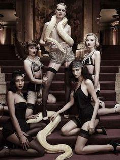 Originale vom Glamourshooting - Germany's next Topmodel 2016