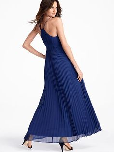 Knife-pleat Maxi,Love the Navy perfect for a summer  Night,xxx