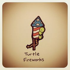 Turtle Fireworks #july4th #july4 #merica - @turtlewayne- #webstagram