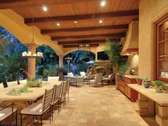 Beautiful outdoor entertaining space.