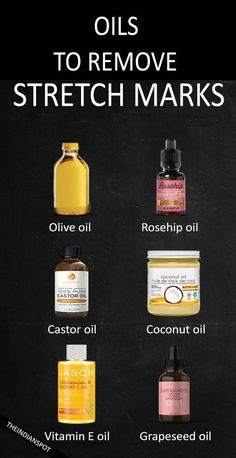 AMAZING OILS TO GET RID OF STRETCH MARKS