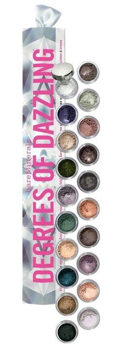 Bare Minerals Degrees Of Dazzling Because You're Greedy! – Musings of a Muse I Love Makeup, Beauty Makeup, Eye Makeup, Bare Essentials Makeup, Bare Minerals Eyeshadow, Mineral Cosmetics, Makeup Obsession, Make Me Up, Makeup Collection