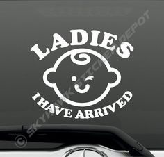 Side Windshield RADIOACTIVE SYMBOL Decal text graphic sticker sign truck car suv